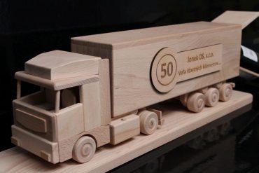 Darčeky pre vodičov šoférov kamionu