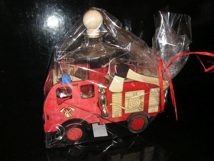 Darčeky požiarnika, hasiča