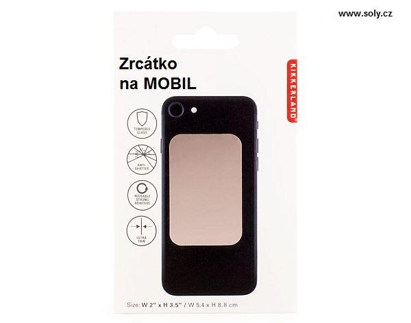 Praktické elastické zrkadlo na mobil, stále po ruke