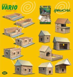 Domček chata chalupa zrub | drevená stavebnica pre deti