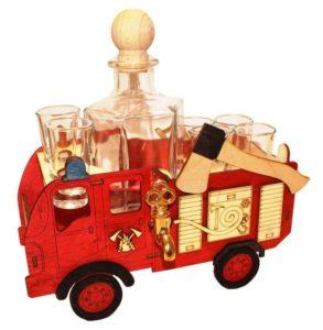 Darčeky fľaše na alkohol požiarnik, hasič