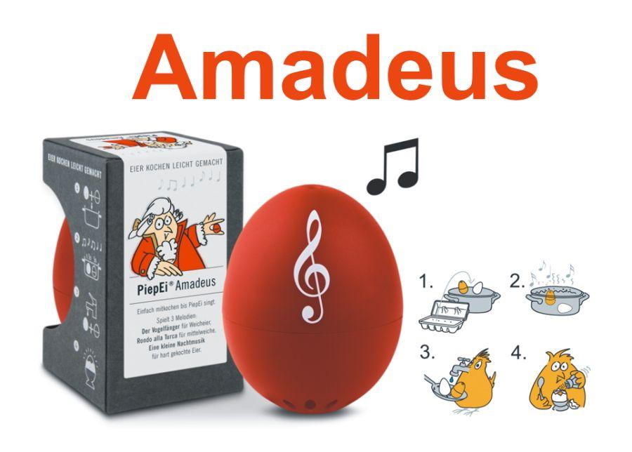 AMADEUS | varič vajec s tromi melódiami od Mozarta | Kuchynská minútka