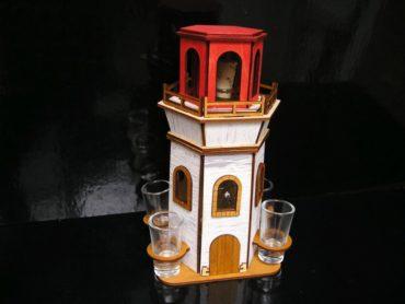 Darček pre námorníka fľaša na alkohol