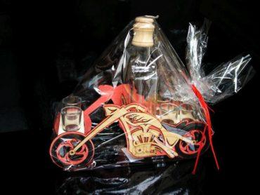 Darček fľaša pre motorkárov | MOTORKA chooper