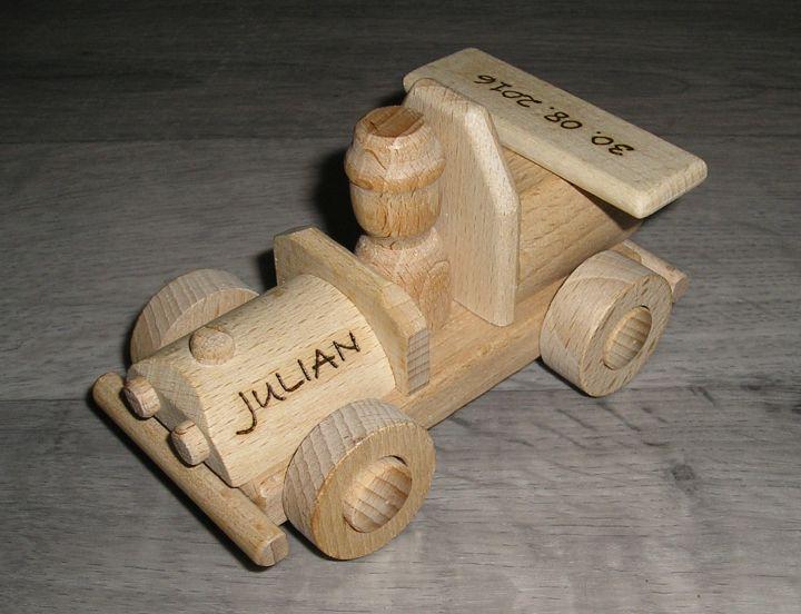 Detské drevené autíčko + kamión | drevené hračky | darčeky pre vodičov