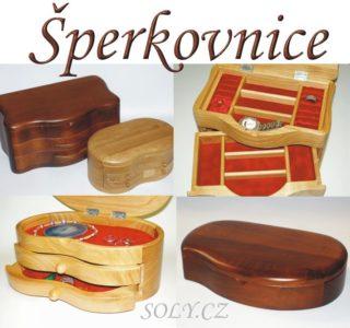 Krabičky na šperky | Drevené šperkovnice
