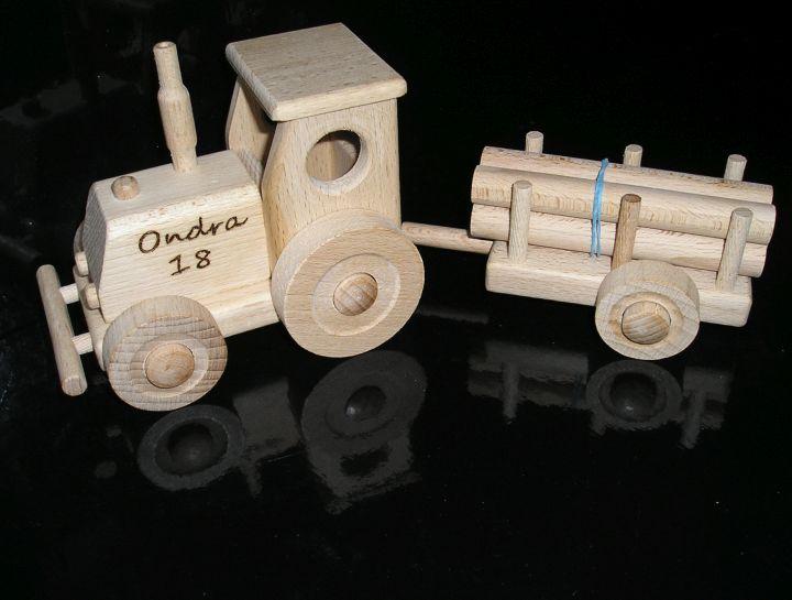 traktor | drevené darčeky pre vodičov trakory, drevená hračka