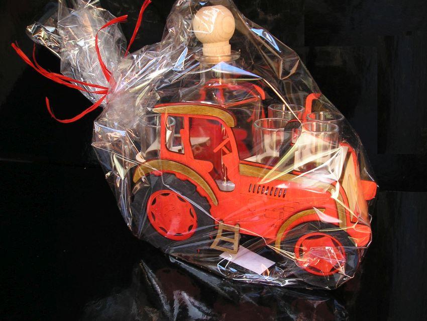 Darčeky pre traktoristu