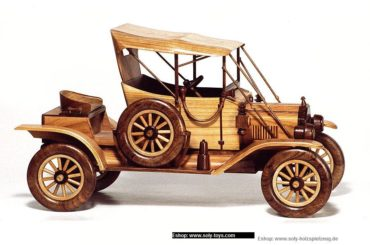 Ford model T drevené modely vozidiel