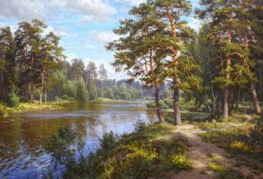 priroda krajina reprodukcie Príroda & Krajiny Obrazy na stenuené ramy