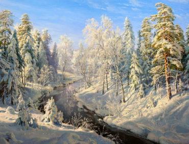 Zima | Umenie reprodukcie Obrazy, predaj obrazov