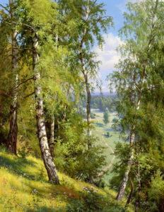 brezy priroda krajina Reprodukcie / Tlače / Grafiky maľovaný obraz