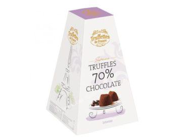 Truffles 70% bonbón, francúzska čokoláda | darček pre ženu