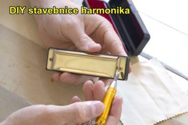 Fúkacia harmonika DIY stavebnice   detské hudobné nástroje