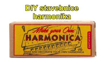 Fúkacia harmonika DIY stavebnice | detské hudobné nástroje
