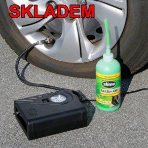 Rýchla oprava autodefektu | opravná sada | prepichnuté pneumatiky