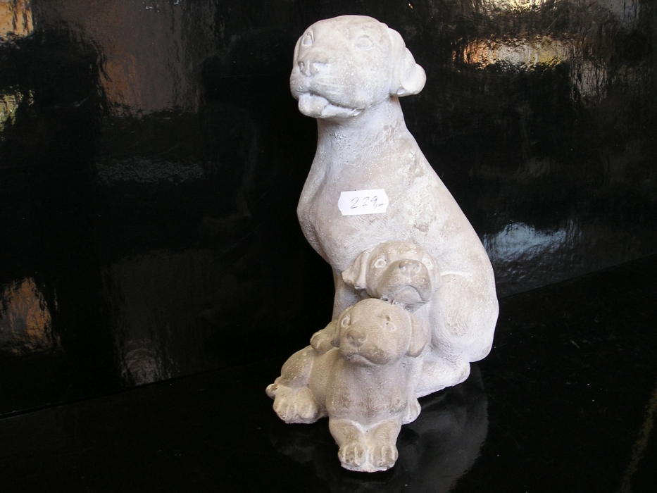 Kamenina pes, psíkovia figúrky záhradné bytová dekorácie