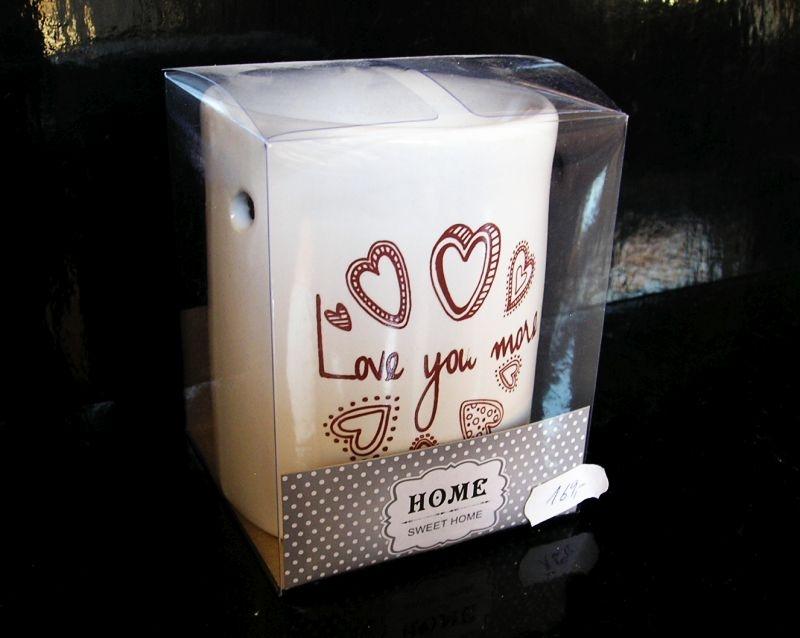 Keramická biela aromalampa HOME