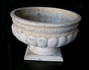 Kvetináč nádoba na kvety, záhradné kamenina dekorácie