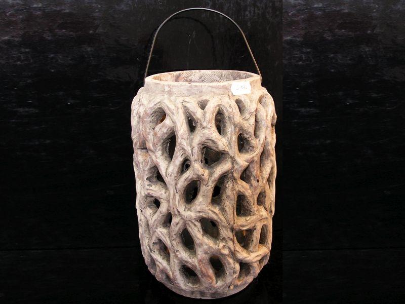 Lucerna lampa kamenina, záhradné dekorácie