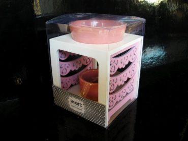 Ružová aromalampa, darček