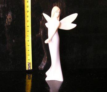 Víla, anjel, luxusné hladké lesklé, sošky dekorácie