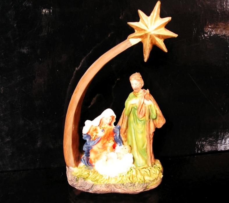 Betlehem vianočná dekorácie