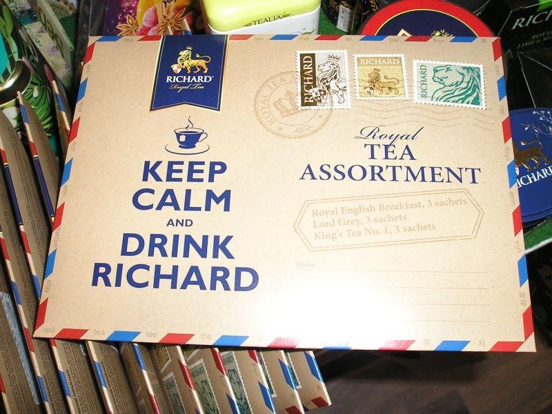 RICHARD | 3 druhy porciovaných čajov v darčekovej obálke