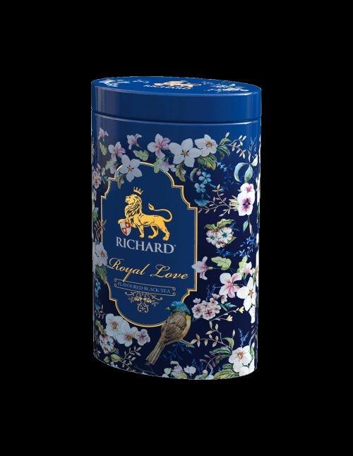 Čierny čaj sypaný s príchuťou Richard Royal Love