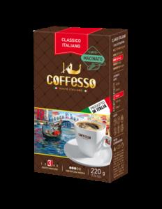 Talianska mleta kava Classico Coffesso