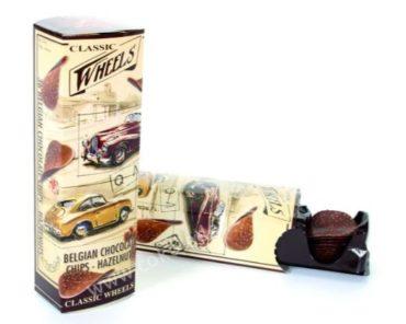 Čokoládové chipsy z mliečnej čokolády a lieskovými orieškami