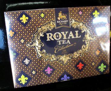 Darčekový set ROYAL 120 čajov, čiernych, zelených