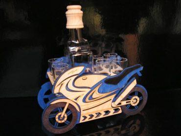 Darčeky pre motorkárov | motorka fľaša