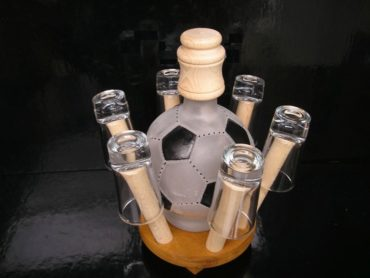 Darček pre futbalistu | kopačák fľaša
