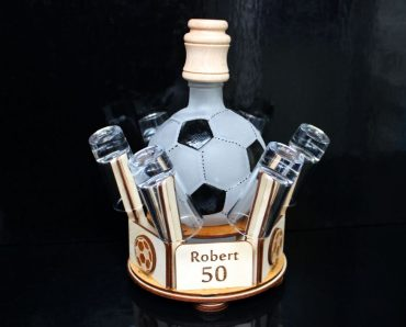 Futbalové darčeky, fľaša lopta