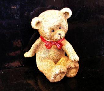 Medvedík, medveď, dekorácie