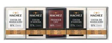 Mini Čokolády mliečna, horká a extra horká HACHEZ