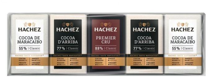 Mini Čokolády mliečna, horká a extra horká HACHEZna-horka-a-extra-horka
