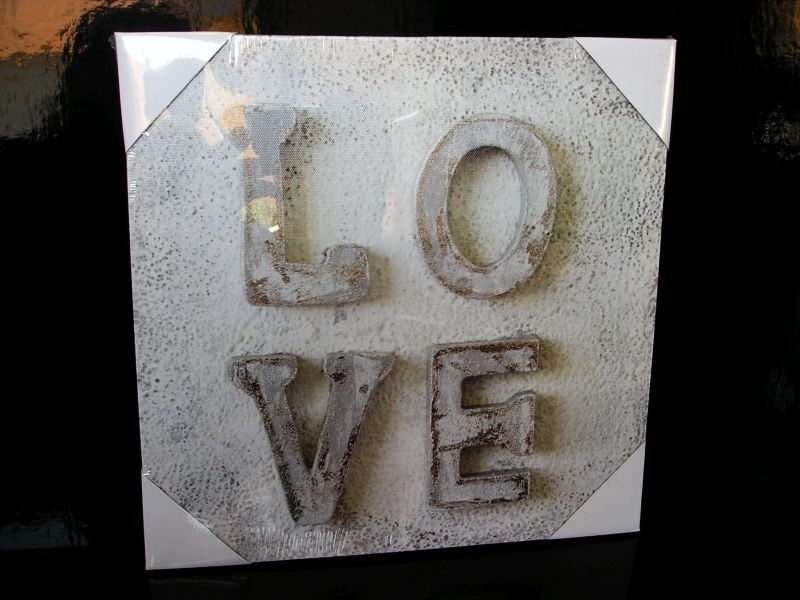 Obraz dekorácia do bytu LOVE láska