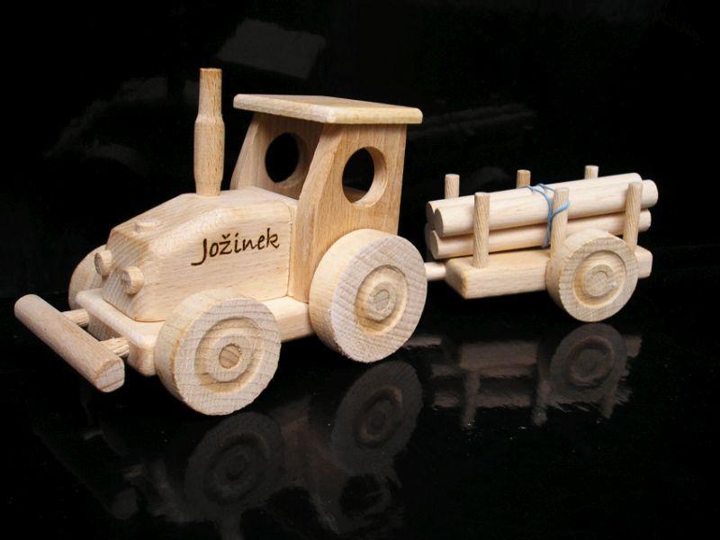 Traktor, darček pre traktoristu