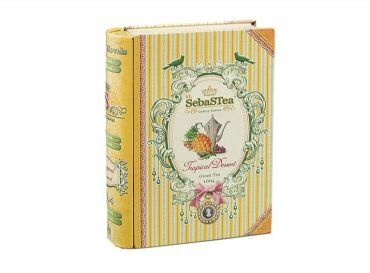 darčekové caju zelené ovocné sypané plechová krabička doza