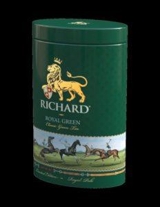 Zelený čaj sypaný Richard Royal Green