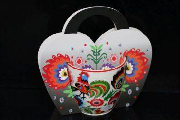Darčekový hrnček na kávu čaj, folklórne darčeky