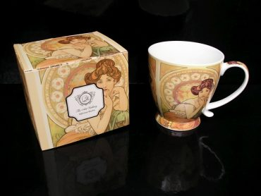 Darček hrnček Alfons Mucha na kávičku a čaj