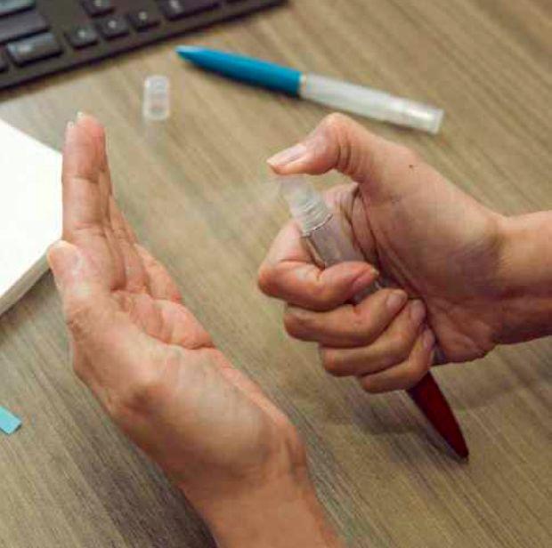 Dezinfekcia-ruk