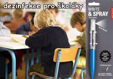 Dezinfekčné písacie pero, propiska, ceruzka