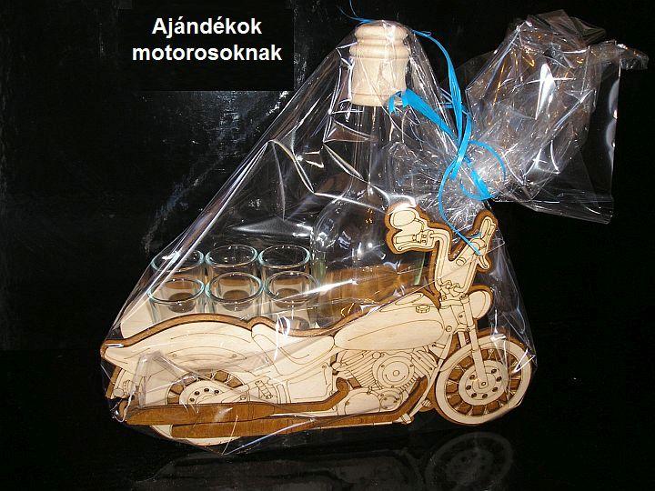 Motoros ajándék motorosnak