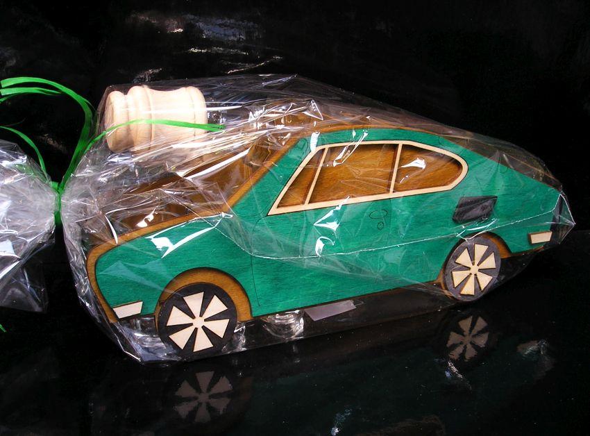 Škoda 110 R, erko. Darčeky pre vodiča