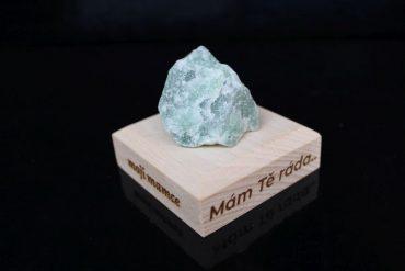 Avanturín zelený surový minerálne liečivé kameň pre šťastie